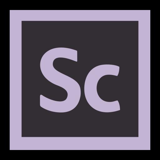 adobe, cc, cloud, creative, desktop, publishing, scout icon