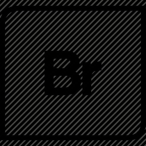adobe, bridge, document, extension icon
