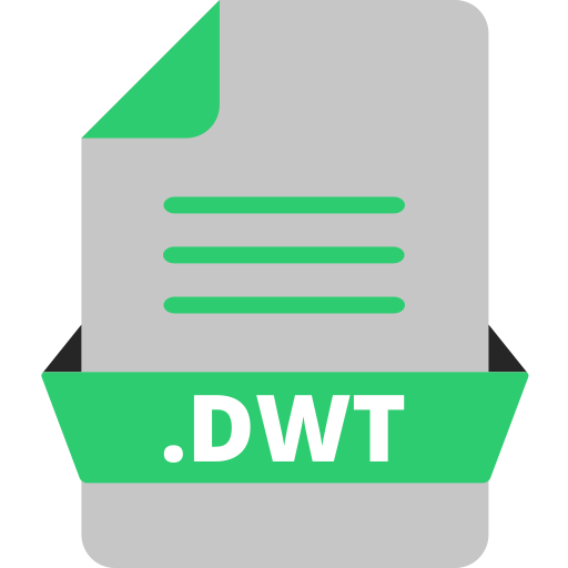 adobe dreamweaver, adobe file extensions, document, dwt, extension icon, file, file format icon
