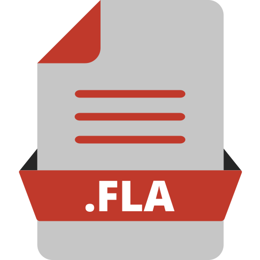 adobe file extensions, adobe flash, document, extension icon, file, file format, fla icon