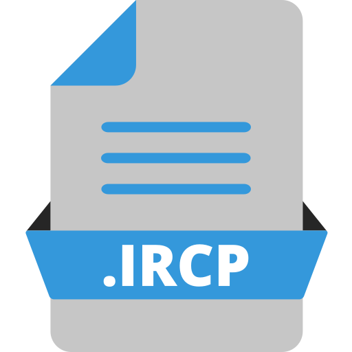 adobe file extensions, adobe speedgrade, document, extension icon, file, file format, ircp icon