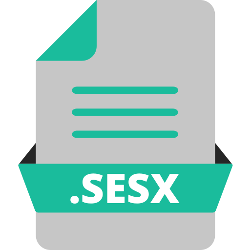 adobe audition, adobe file extensions, document, extension icon, file, file format, sesx icon