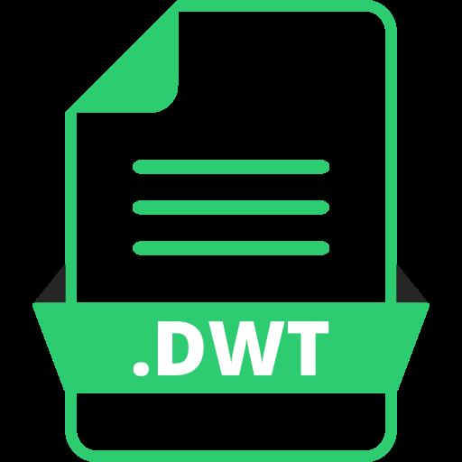 adobe dreamweaver, adobe file extensions, document, dwt, extension icon, file, file format icon