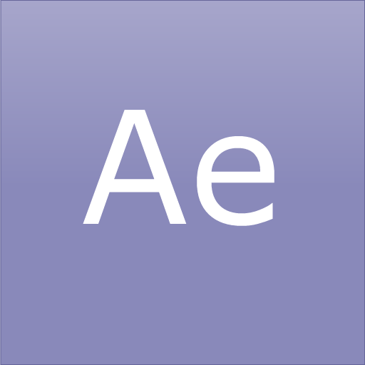 Adobe, aftereffects, cc, cs, cs6 icon