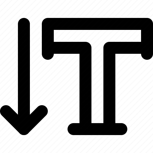 drawing tool, fornt, illustrator, text, type, typography, vertical ype icon
