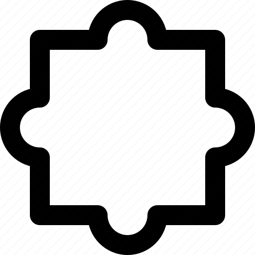 bloat, illustrator, modify, poke, reshape, shape, tool icon