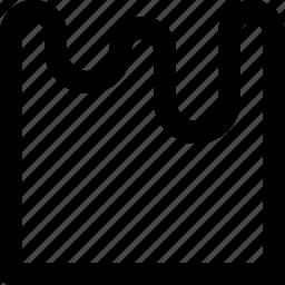drip, liquid, shape, tool, water, waves, wrinkle icon