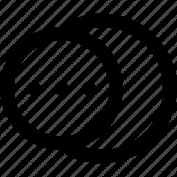 circle, geometry, illustrator, shape, shape builder, shapes, transformation icon