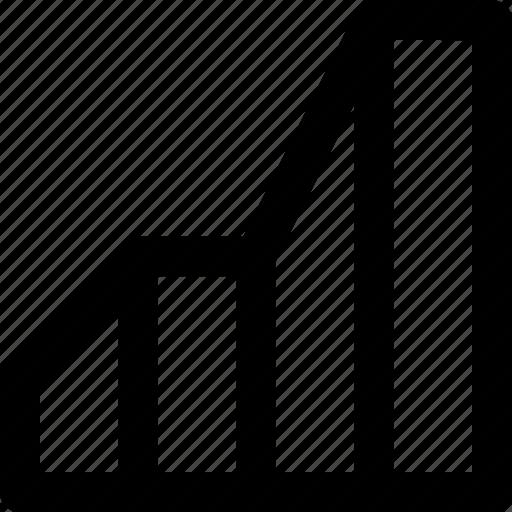 chart, data, figures, graph, illustrator, line, statistics icon