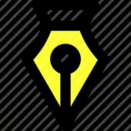 adobe illustrator, fountain pen, illustrator, interface, pen, quill, tool icon