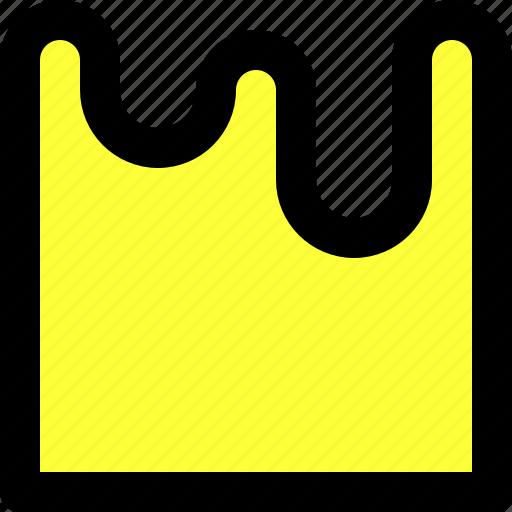 drip, illustrator, liquid, paint, resape, shape, wrinkle icon