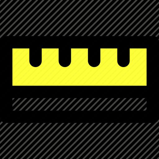dimensions, illustrator, measure, metre, ruler, scale, size icon