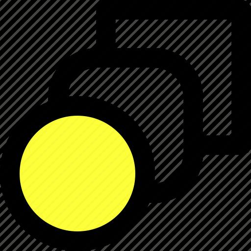 blend, circle, illustrator, shape, square, tool, transform icon