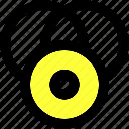 cd, circle, disk, illustrator, screener, shapes, symbol screener icon