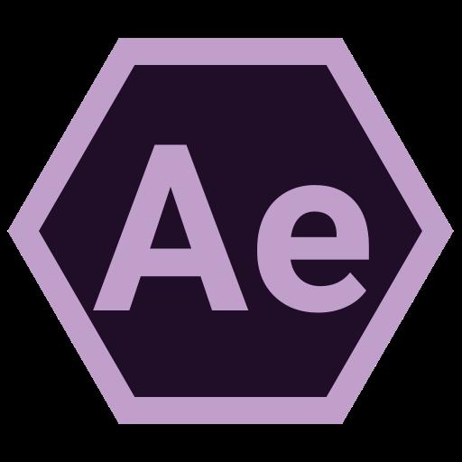 adobe, ae, hexa, tool icon