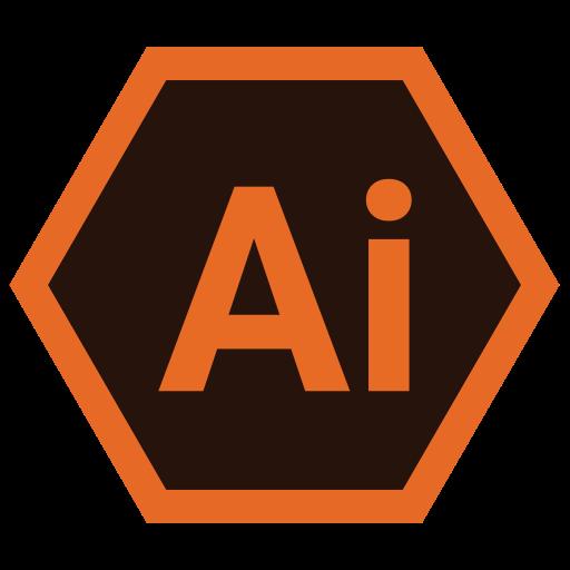 adobe, design, hexa, illustrator, tool icon