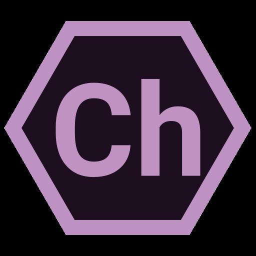 adobe, ch, hexa, tool icon