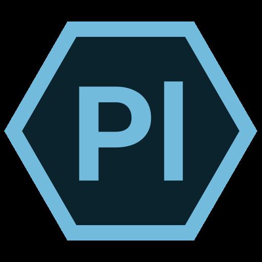 adobe, hexa, pl, tool icon