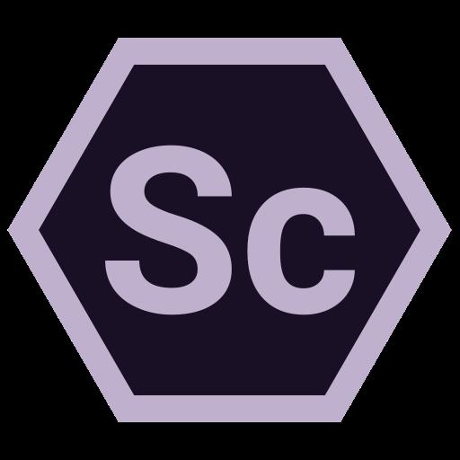adobe, hexa, sc, tool icon