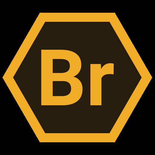 adobe, br, hexa, tool icon