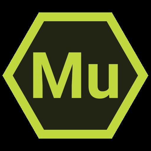 adobe, hexa, mu, tool icon