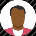 avatar, black, halfbold, male, man, people, person icon