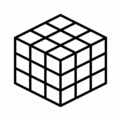 cube, rubik icon