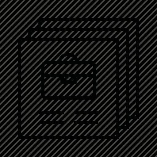allgemeine, stellenangebote icon