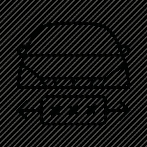 car, change, license, plate icon