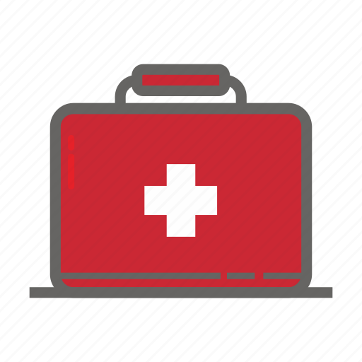 adventure, first aid, gear, medical, object, outdoor, travelling icon