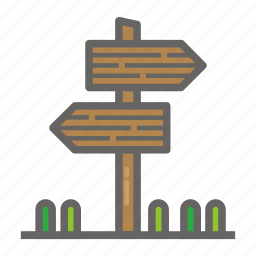 adventure, direction, gear, object, outdoor, travelling icon