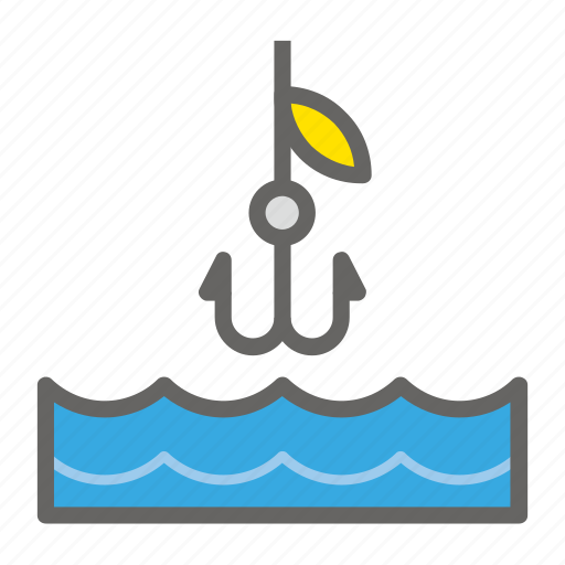 adventure, anchor, gear, object, outdoor, river, travelling icon