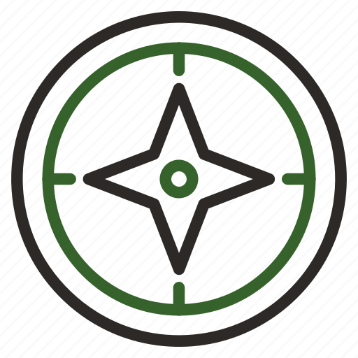 Compass, direction, journey, north icon - Download on Iconfinder