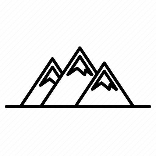 adventure, hill, mountain icon