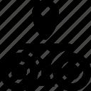 binoculars, find, view, zoom icon