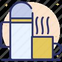 percolator, thermos, thermos bottle, vacuum bottle, vacuum flask icon