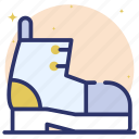 ankle boots, high boots, high shoes, hiking boots, long boots, winter boots icon