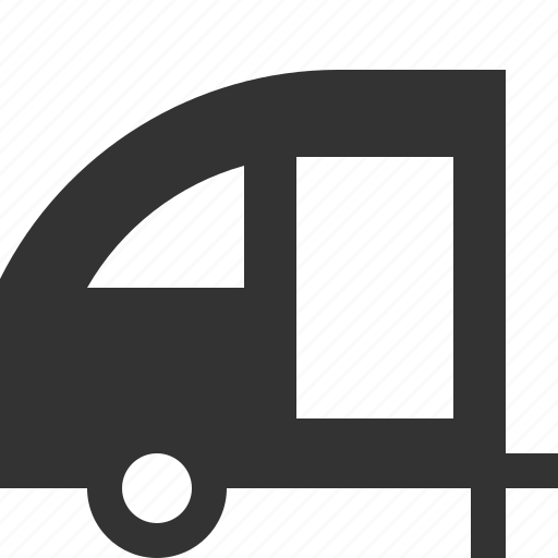 car, rv, trailer, vehicle icon
