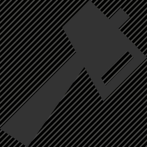 ax, axe, hatchet, wood icon