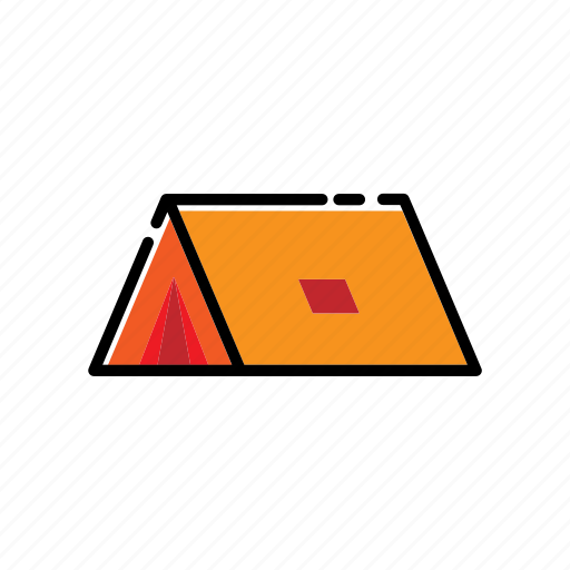Adventure, bivouac, camping, tent icon - Download on Iconfinder