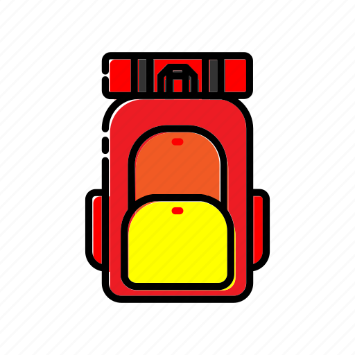 Adventure, backpack, bag, camping, outdoor icon - Download on Iconfinder