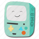 adventure, bmo, game, time icon