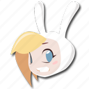 adventure, fionna, human, time icon