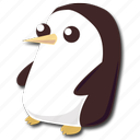 adventure, cute, gunter, penguin, time icon