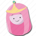 adventure, bubblegum, pbg, princess icon