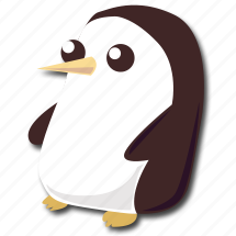 adventure, cute, gunter, penguin, time icon