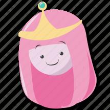 adventure, bubblegum, pbg, princess icon