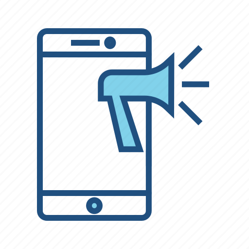 Ad, marketing, bullhorn, promotion, web ad, mobile advertisement icon - Download