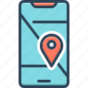 cartography, direction, geo, localization, mobile, navigation, pin
