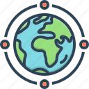 connection, geology, globe, globe connection, map, network, world